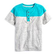 Boys 4-7x SONOMA Goods for Life™ Heathered Colorblock Henley