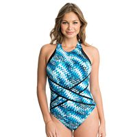 Women's Upstream Chevron One-Piece Swimsuit