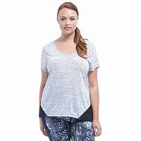 Plus Size Marika Active Drift V-neck Top