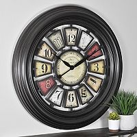 FirsTime Industrial Chic Wall Clock