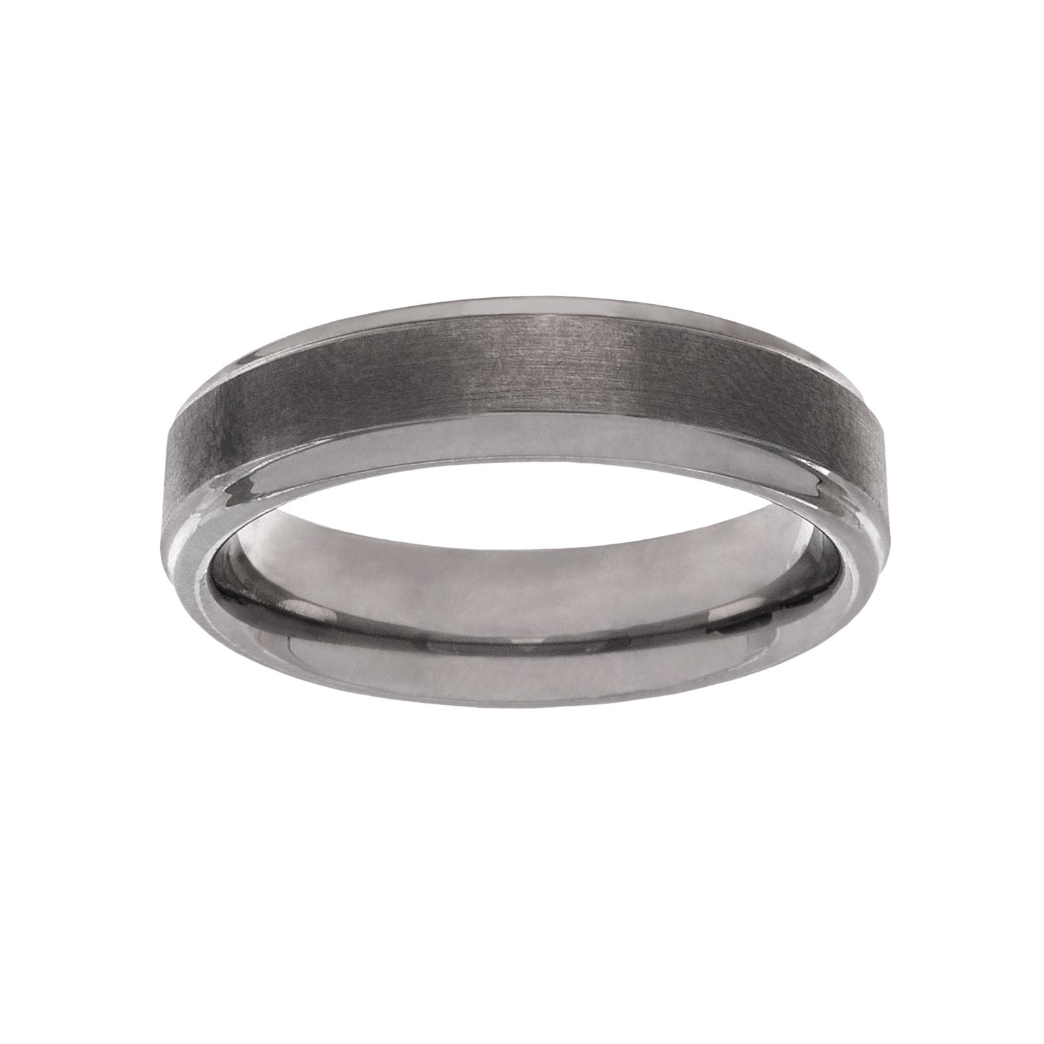 Lovemark Tungsten Carbide Menu0027s Wedding Band