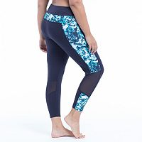Plus Size Marika Active Peak Capri Leggings