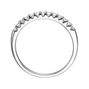 Lovemark 14k White Gold 1/4-ct. T.W. Certified Diamond Wedding Band