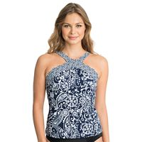 Women's Upstream Paisley Twist Tankini Top