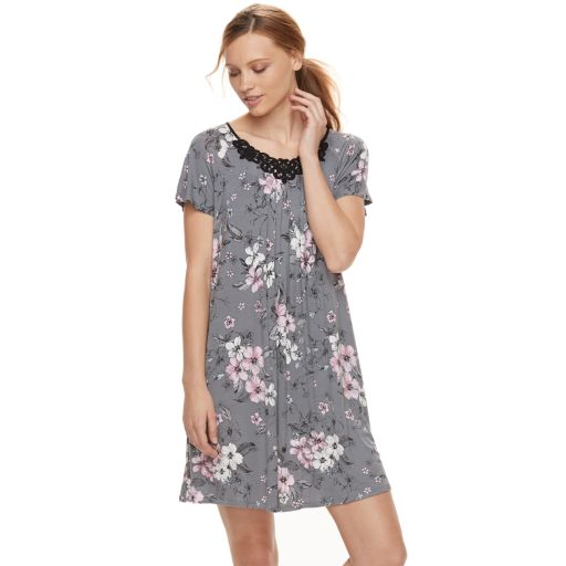 Women's Croft & Barrow® Scoopneck Sleep Gown