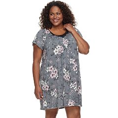 Plus Size Croft & Barrow® Scoopneck Night Gown