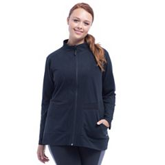 Plus Size Marika Adrenaline Zip-Up Jacket