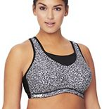 Plus Size Glamorise Full-Figure Elite Performance No-Bounce Cami Wire-free Sports Bra 1067
