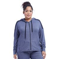 Plus Size Marika Studio Zip-Up Jacket