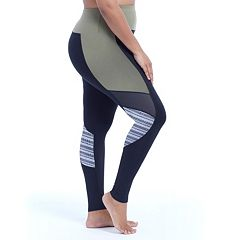 Plus Size Marika Progressive Space-Dye Insert Leggings
