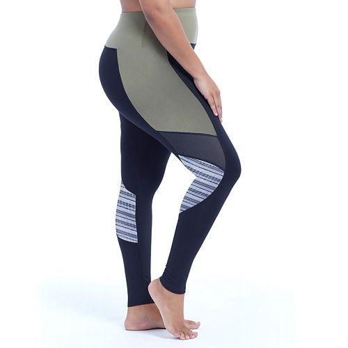 Plus Size Marika Progressive Space-Dye Insert Leggings