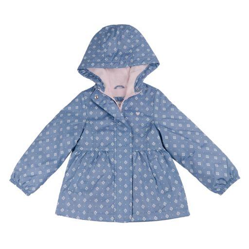 Baby Girl Carter's Floral Print Fleece Lined Jacket