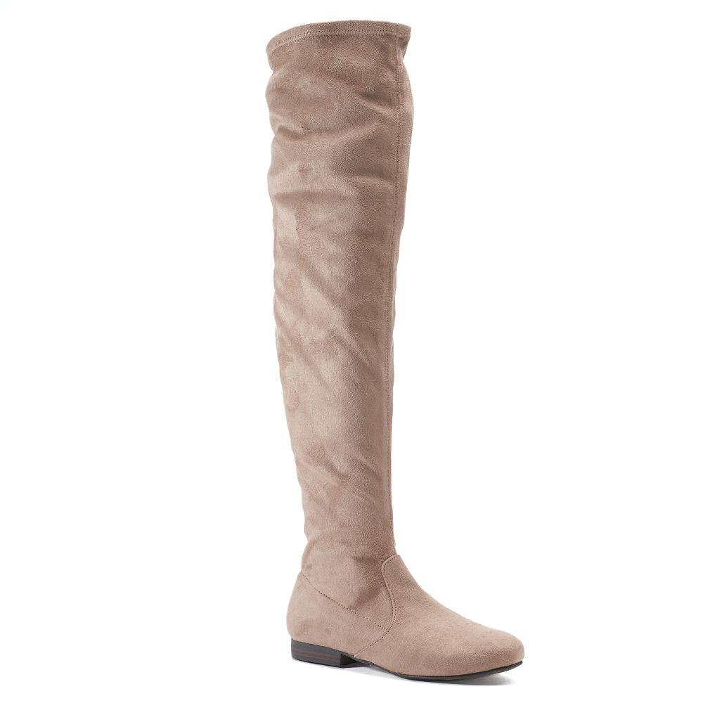 LC Lauren Conrad Chives Women's Over-The-Knee Boots