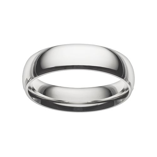 Lovemark Stainless Steel Men's Wedding Band
