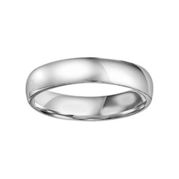 Lovemark Platinum Men's Wedding Band