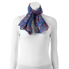 Women's Chaps Floral Square Scarf