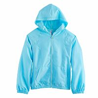 Girls 7-16 SO® Mesh Zip Hoodie