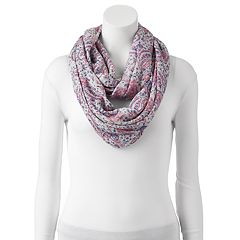 Women's Chaps Paisley Infinity Scarf