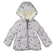 Baby Girl OshKosh B'gosh Heavyweight Polka Dot Jacket