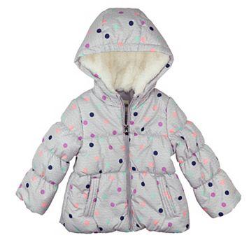 Baby Girl OshKosh B'gosh Heavyweight Polka Dot Jacket