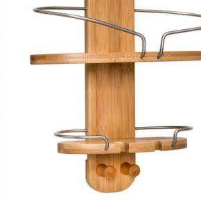 Honey-Can-Do Bamboo Shower Caddy