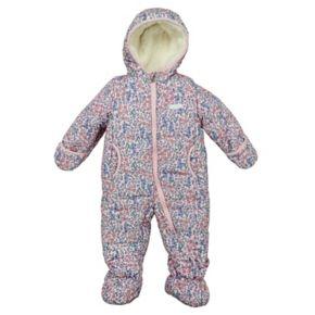 Baby Girl Osh'Kosh B'gosh Floral Print Snowsuit