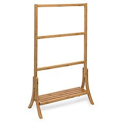 Honey-Can-Do Bamboo Towel Rail