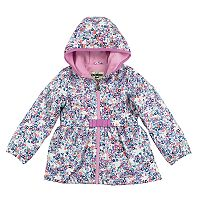 Baby Girl OshKosh B'gosh® Midweight Floral Fleece-Lined Jacket