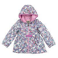 Baby Girl OshKosh B'gosh® Midweight Floral Fleece-Lined Jacket