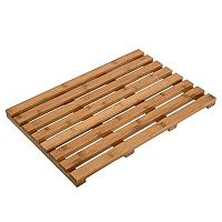 Honey-Can-Do Bamboo Bath Mat