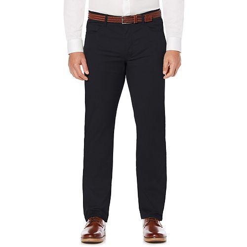 Men's Savane Active Flex Modern-Fit 5-Pocket Flat-Front Pants