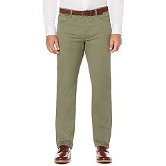 Men's Savane Active Flex Modern-Fit 5-Pocket Flat-Front Pants