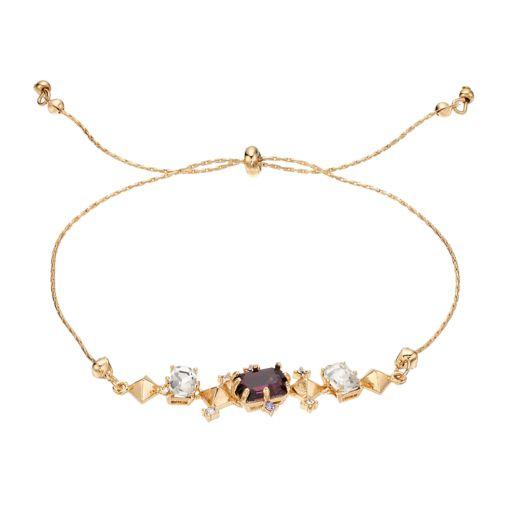 LC Lauren Conrad Geometric Slipknot Bracelet