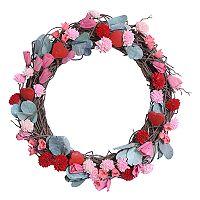 Celebrate Valentine's Day Together Shola Flower Wreath