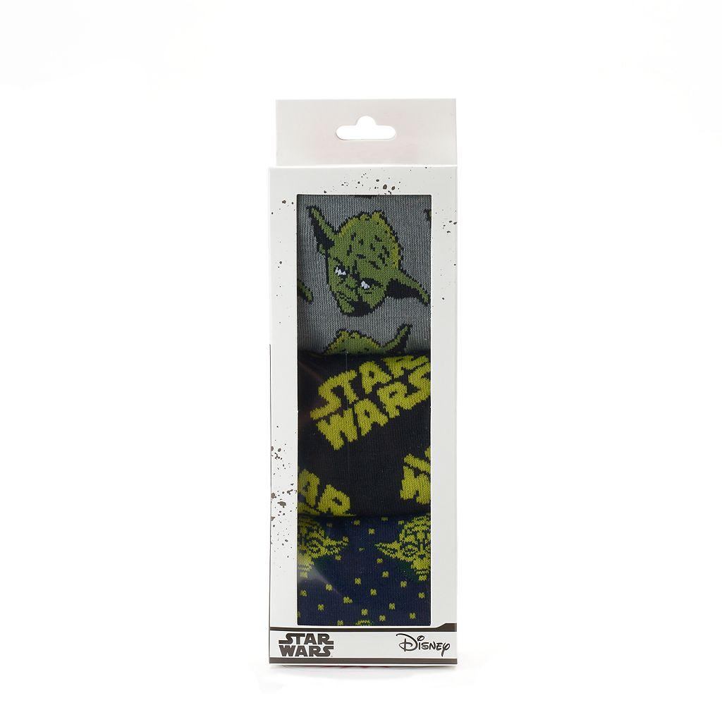 Men's Star Wars 3-Pack Crew Socks
