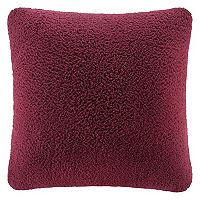 Cuddl Duds Sherpa Throw Pillow