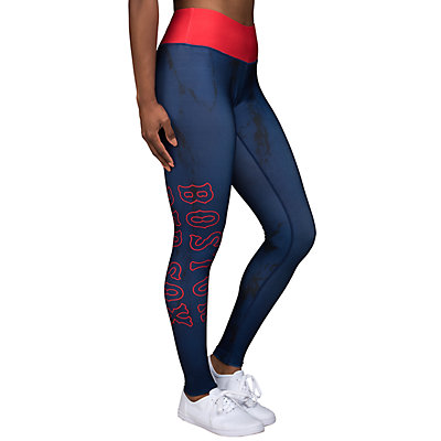 Women's Forever Collectibles Boston Red Sox Marble Wordmark Leggings