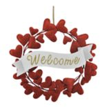 "Celebrate Valentine's Day Together ""Welcome"" Wreath"