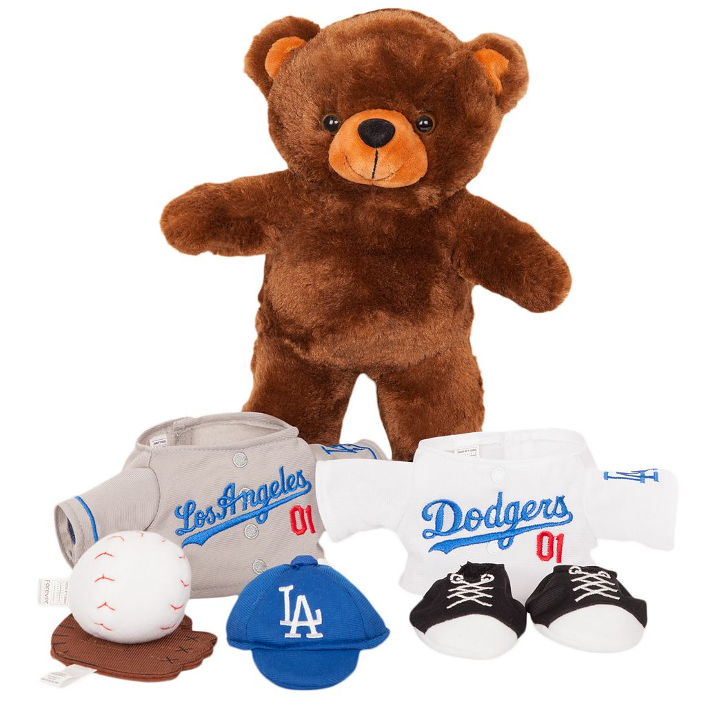 Forever Collectibles Los Angeles Dodgers Clubhouse Buddy Stuffed Animal