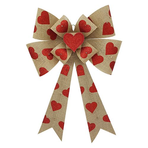 Celebrate Valentine's Day Together Light-Up Bow Wall Decor
