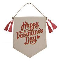 Celebrate Valentine's Day Together Banner Wall Decor