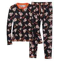 Boys 4-18 Cuddl Duds Star Wars BB-8 2-Piece Base Layer Set