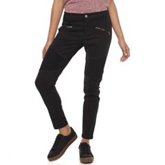 Juniors' Tinseltown Moto Skinny Pants