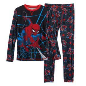 Boys 4-18 Cuddl Duds Marvel Spider-Man Base Layer Set