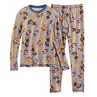 Boys 4-18 Cuddl Duds Paw Patrol 2 pc Base Layer Set