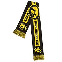 Adult Forever Collectibles Iowa Hawkeyes Big Logo Scarf