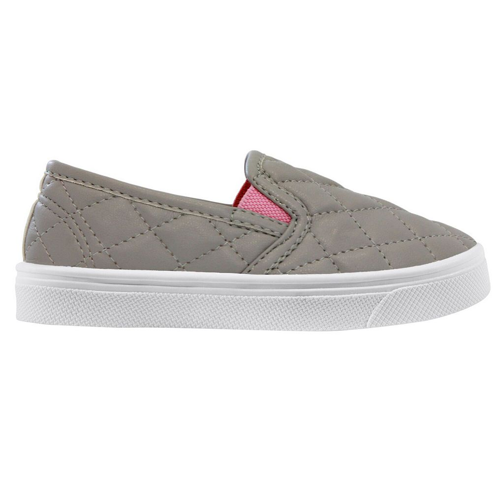 Oomphies Madison Girls' Slip On Sneakers