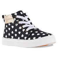 Oomphies Sam Girls' High Top Sneakers