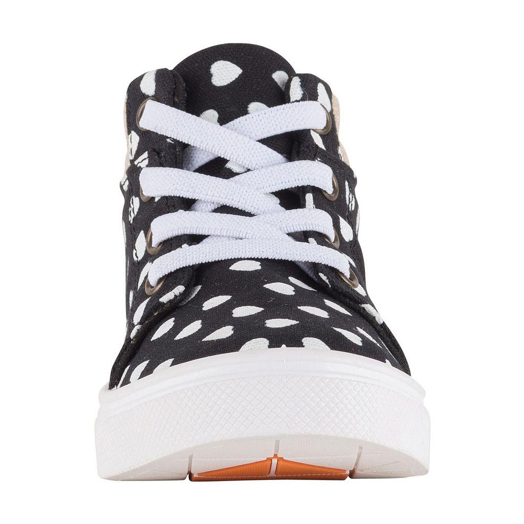 Oomphies Sam Girls' High Top Sneakers
