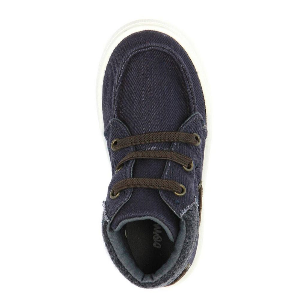 Oomphies Riley Boys' High Top Sneakers